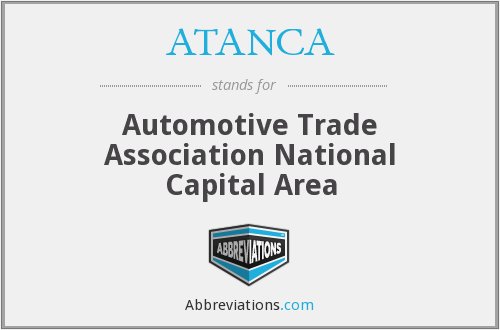 ATANCA - Automotive Trade Association National Capital Area