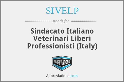 SIVELP - Sindacato Italiano Veterinari Liberi Professionisti (Italy)