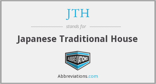 What does JTH stand for?