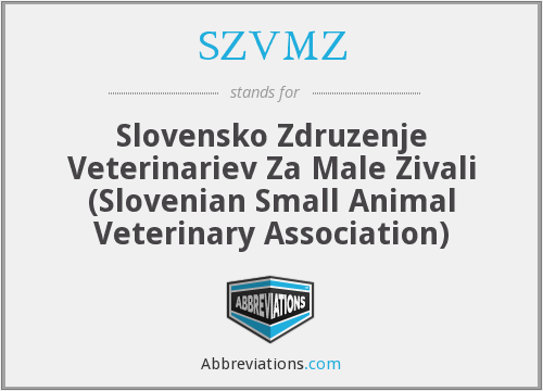 What does SZVMZ stand for?