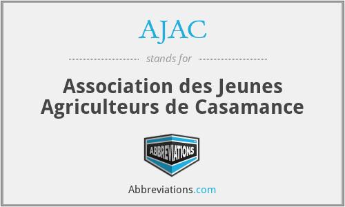 AJAC - Association des Jeunes Agriculteurs de Casamance