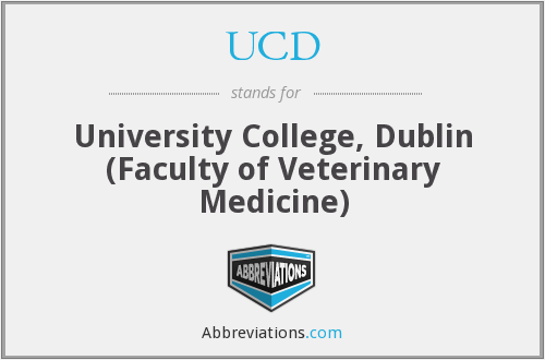 UCD - University College, Dublin (Faculty of Veterinary Medicine)
