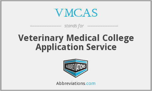 What does VMCAS stand for?