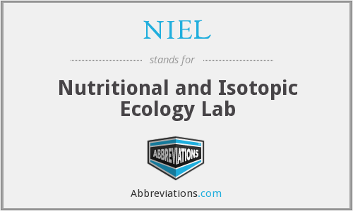 NIEL - Nutritional and Isotopic Ecology Lab