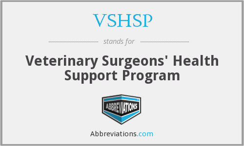 What does VSHSP stand for?