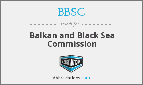 BBSC - Balkan and Black Sea Commission