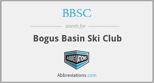 BBSC - Bogus Basin Ski Club