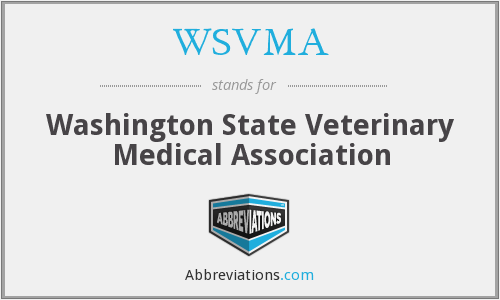 WSVMA - Washington State Veterinary Medical Association