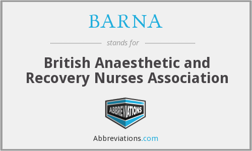 What does BARNA stand for?