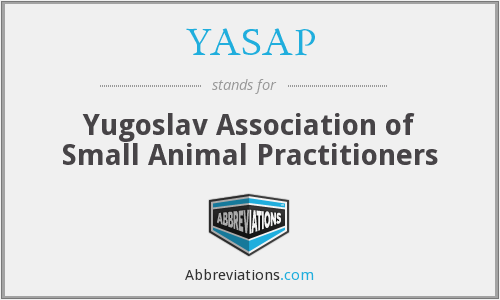 YASAP - Yugoslav Association of Small Animal Practitioners
