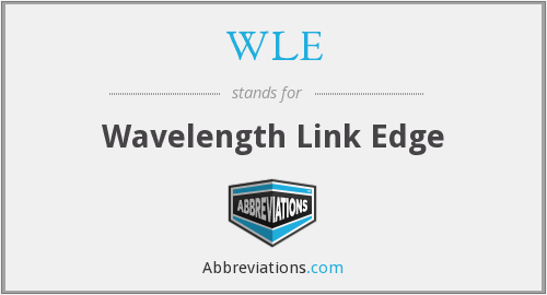 WLE - Wavelength Link Edge