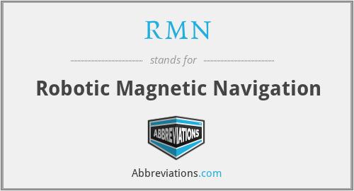 RMN - Robotic Magnetic Navigation