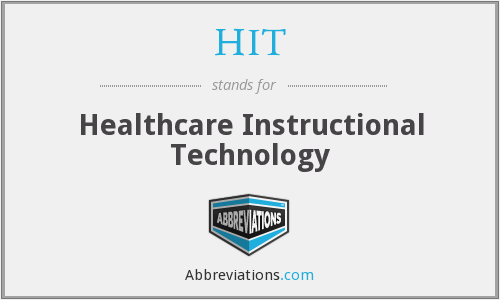 HIT - Healthcare Instructional Technology