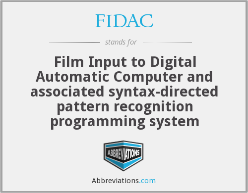 What does FIDAC stand for?