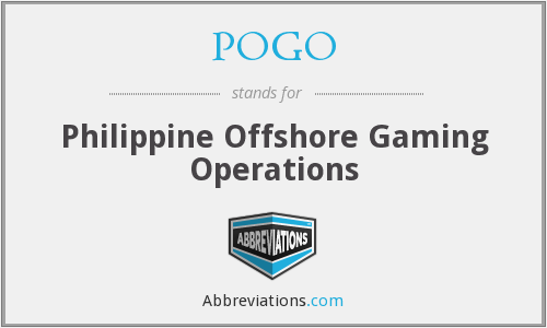 POGO - Philippine Offshore Gaming Operations