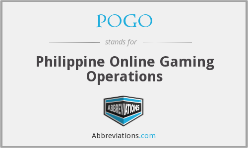 POGO - Philippine Online Gaming Operations
