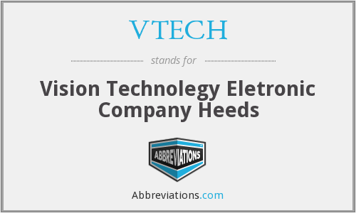 What does VTECH stand for?