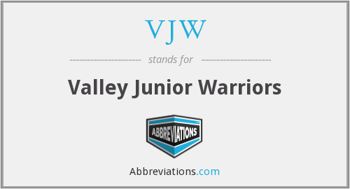 VJW - Valley Junior Warriors