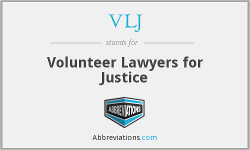VLJ - Volunteer Lawyers for Justice