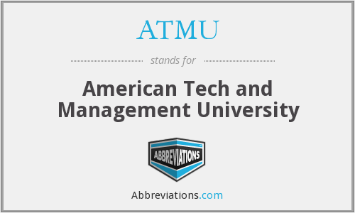 What does ATMU stand for?