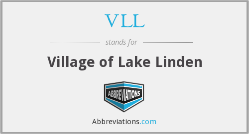 VLL - Village of Lake Linden