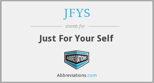 What does JFYS stand for?