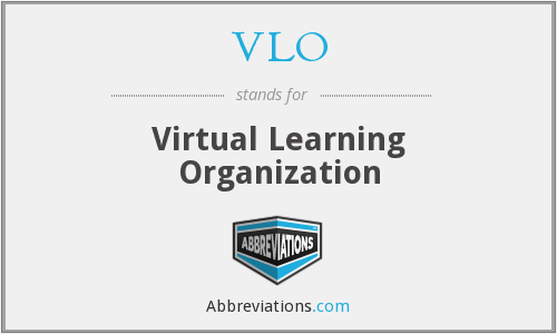 VLO - Virtual Learning Organization