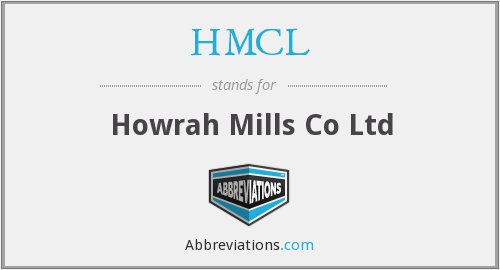 HMCL - Howrah Mills Co Ltd