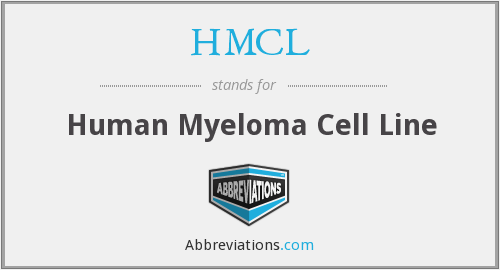 HMCL - Human Myeloma Cell Line