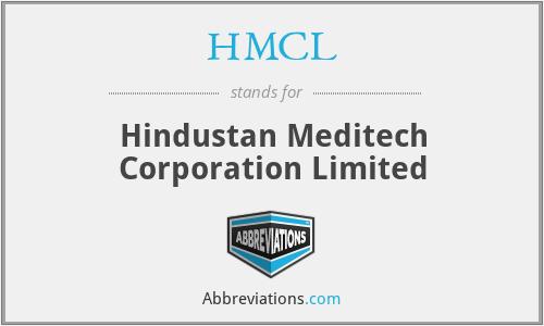 HMCL - Hindustan Meditech Corporation Limited