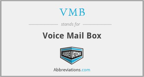 VMB - Voice Mail Box