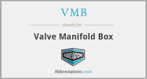 VMB - Valve Manifold Box