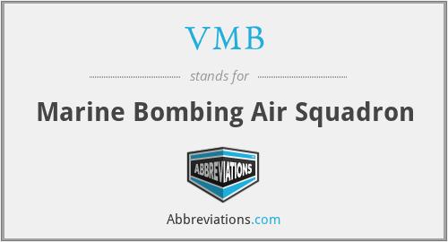 VMB - Marine Bombing Air Squadron