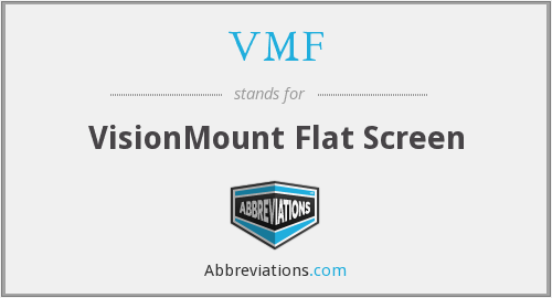 What does VMF stand for?