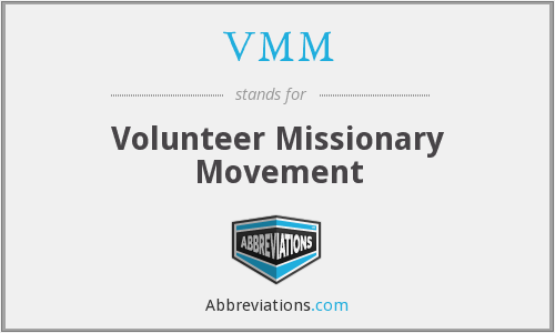 VMM - Volunteer Missionary Movement