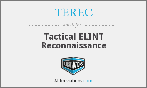 What does TEREC stand for?