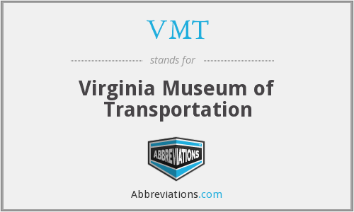 VMT - Virginia Museum of Transportation