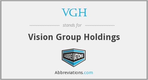 VGH - Vision Group Holdings