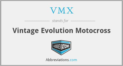 VMX - Vintage Evolution Motocross