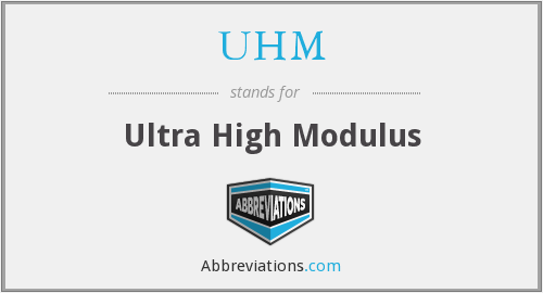 UHM - Ultra High Modulus