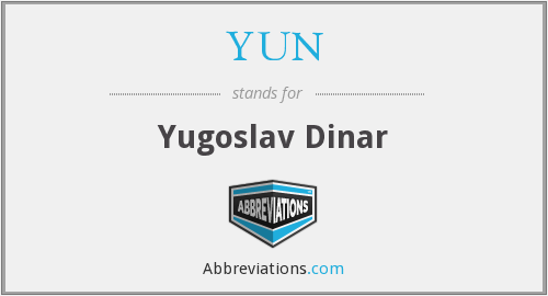 What does YUN stand for?