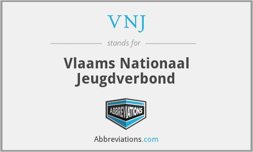 VNJ - Vlaams Nationaal Jeugdverbond