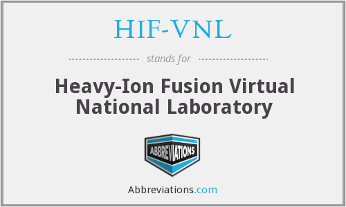 What does HIF-VNL stand for?