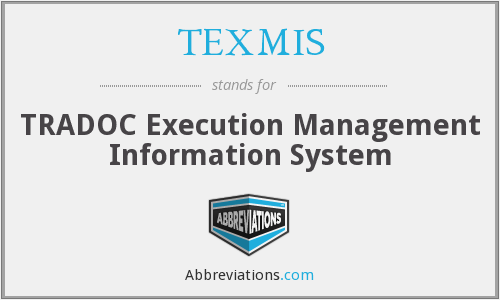 What does TEXMIS stand for?