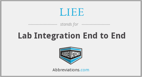 What does LIEE stand for?