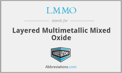 LMMO - Layered Multimetallic Mixed Oxide