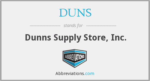 DUNS - Dunns Supply Store, Inc.