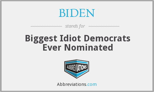 What does BIDEN stand for?