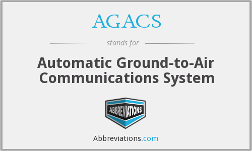 What does AGACS stand for?