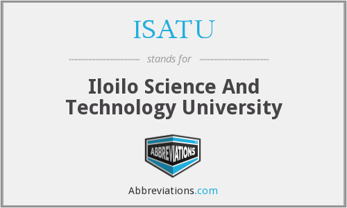 What does ISATU stand for?